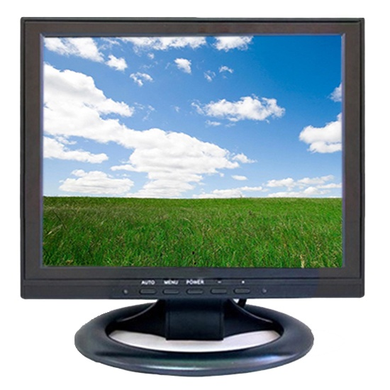 12 Inch Lcd Monitor with 1024*768 resolution