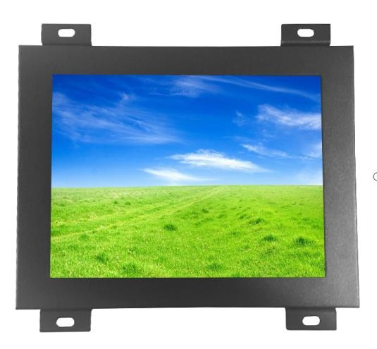 8 inch open frame lcd touch monitor