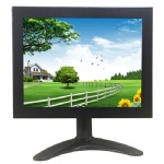 8 inch lcd touch monitor with BNC