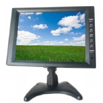 10.2 Inch LCD Touch Monitor With RCA