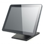 15 inch Pure flat lcd pcap touch monitor